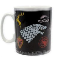 Sans Marque - Game Of Thrones Mug 460 ml Sigles & Trône