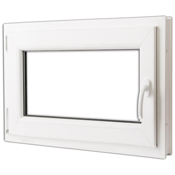 Vidaxl - Fenêtre oscillo-battante Pvc Double vitrage poignée à droite 800x600mm