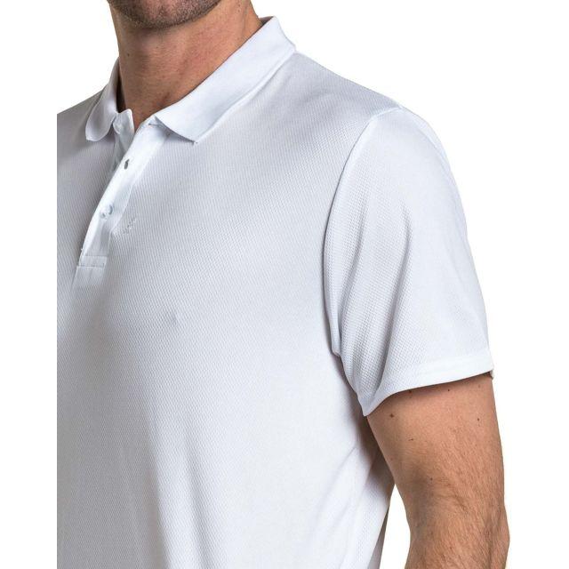 Brave Soul - Polo sport homme blanc aéré