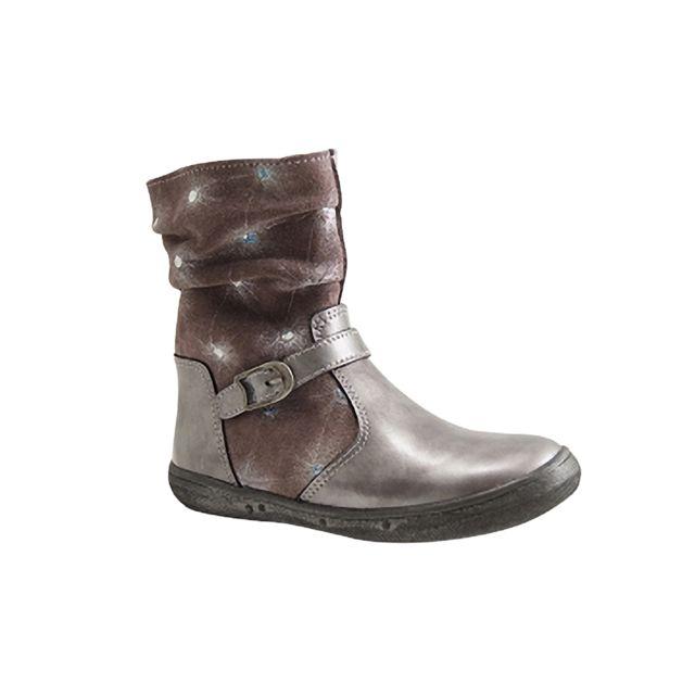 8d3ec2a4fa4cf Bellamy - facil-boots-gris - pas cher Achat   Vente Sandales et tongs enfant  - RueDuCommerce