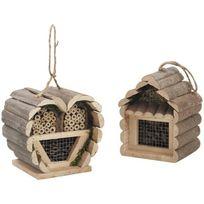 Aubry Gaspard - Petits Abri à insectes en bois