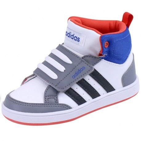 best sneakers 5fc7b eaaf7 Adidas originals - Chaussures Montante Blanc Hoops Cmf Bébé Garçon Adidas