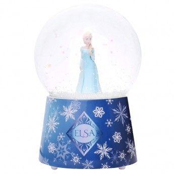 La Reine Des Neiges Boule à Neige Musicale Elsa