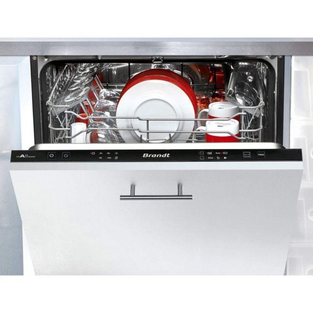Brandt Lave-vaisselle Vh 1704 J - 14 Couverts - 6 Programmes - A