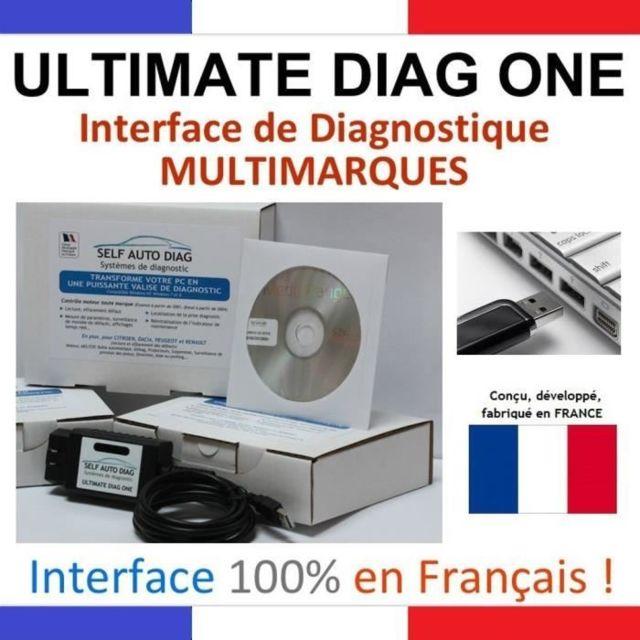 self auto diag valise diagnostic auto multimarque pas cher achat vente outillage. Black Bedroom Furniture Sets. Home Design Ideas
