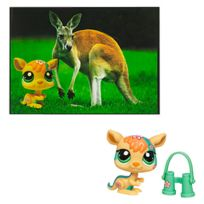 Little Petshop - Petshop - Petshop Kangourou et Carte Postale