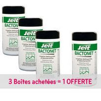 Jelt - Pack 3 boîtes de lingettes + 1 offerte