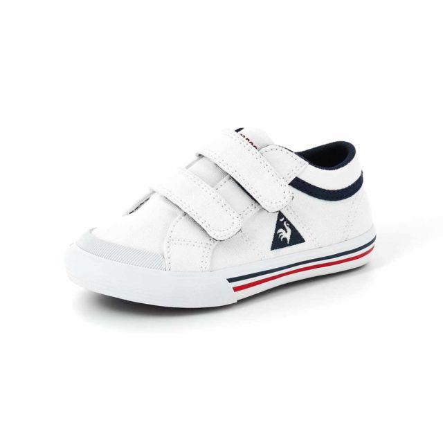 3b560e552d2f0 Le Coq Sportif - Saint Gaetan Inf Chaussures Mode Sneakers Bebe Blanc - pas  cher Achat   Vente Baskets enfant - RueDuCommerce