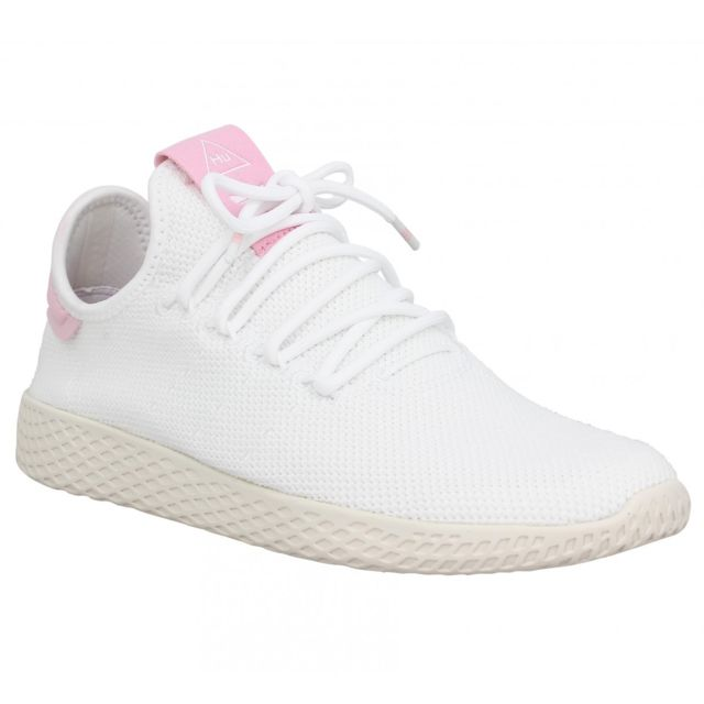 low priced 148b6 0969a Adidas - X Pharrell Williams Pw Tennis mesh Femme-41 1 3-Blanc Rose 36 -  pas cher Achat   Vente Baskets femme - RueDuCommerce