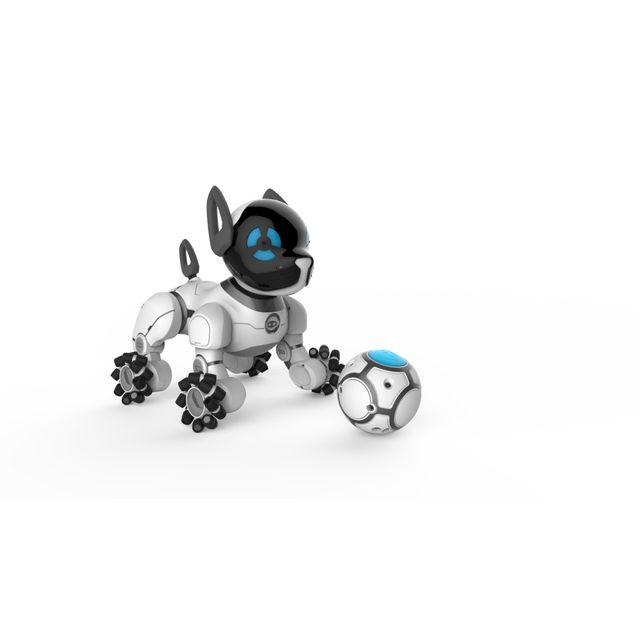 wowee - robot interactif chip - e50036   vente jouet  u00e9lectronique enfant