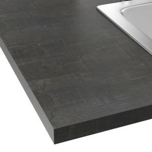 alin a classic cuisine plan de travail stratifi effet bois vieilli 208x60cm pas cher achat. Black Bedroom Furniture Sets. Home Design Ideas