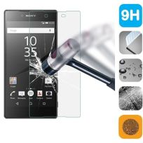 Cabling - Sony Xperia Z5 Compact Protection écran, Film Protection d'écran en Verre Trempé Glass Screen Protector Vitre Tempered pour Sony Xperia Z5- Dureté 9H, Ultra-mince 0.20 mm, 2.5D Bords Arrondis- Anti-rayure, Anti-traces de doigts,Haute-réponse