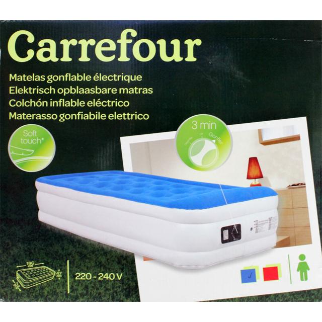 carrefour lit gonflable 1 place pas cher achat vente matelas gonflables rueducommerce. Black Bedroom Furniture Sets. Home Design Ideas