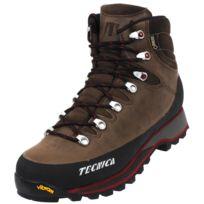 Tecnica - Chaussures marche randonnées Trek alps gtx vibram cuir Marron 79974