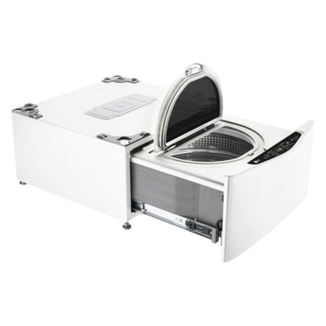 LG Lave-linge Twin Wash Mini - FM37E1WH - Blanc