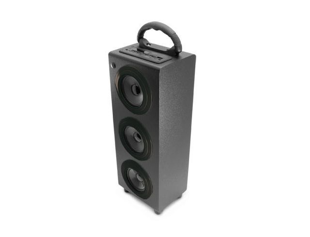 caliber audio technology enceinte bluetooth portable noire haute puissance 2 1 subwoofer. Black Bedroom Furniture Sets. Home Design Ideas