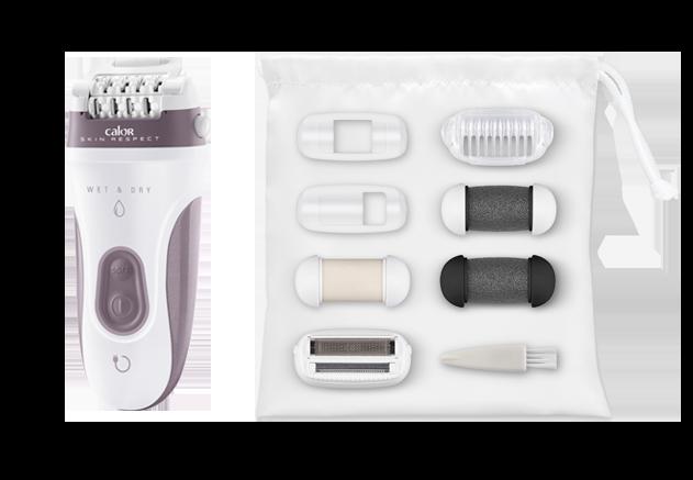 CALOR Epilateur électrique Skin Respect EP8080C0