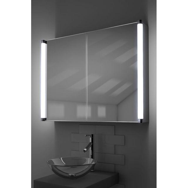 Diamond X Collection - Armoire De Toilette Lumineux Led, Antibuée ...