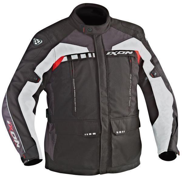 Ixon Blouson Moto Zephyr Hp Taille 4XL Noir//Rouge