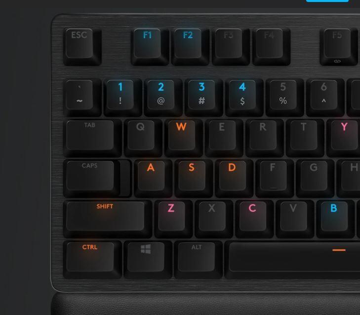 G513 Carbon GX Brown Tactile