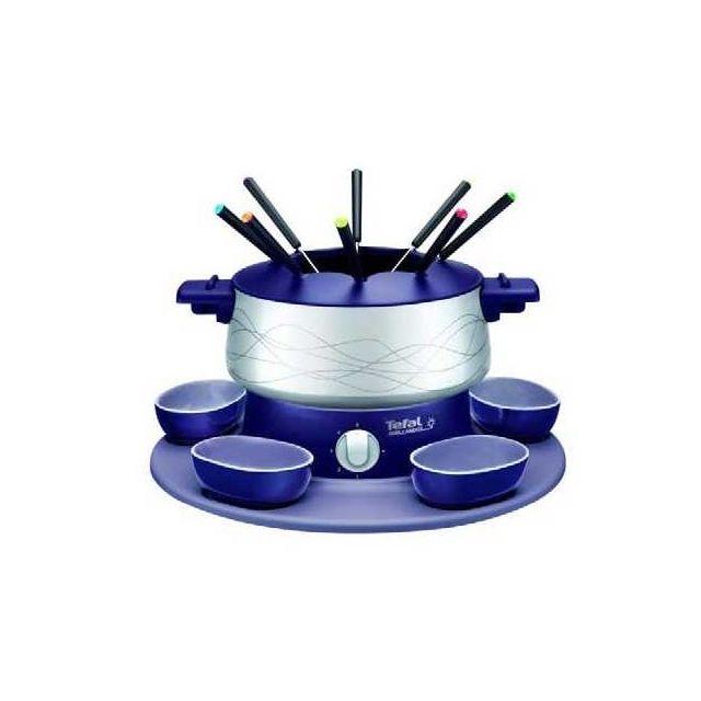 TEFAL Service à fondue Simply Invents - EF351412 - Bleu indigo
