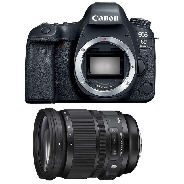 Canon Eos 6D Mark Ii + Sigma 24-105mm f/4 Dg Os Hsm Art Garanti 3 ans