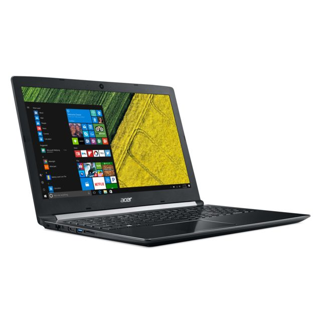 "ACER - Aspire A515-51G-50QS - Intel Core i5-7200U - 8Go - 256Go SSD - Webcam NVIDIA GeForce MX130 2Go 15,6"" Full HD Windows 10 Famille"