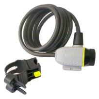 Serrure /à cadre stahlex 470/Deluxe Antivol pour v/élo anneau Antivol Noir