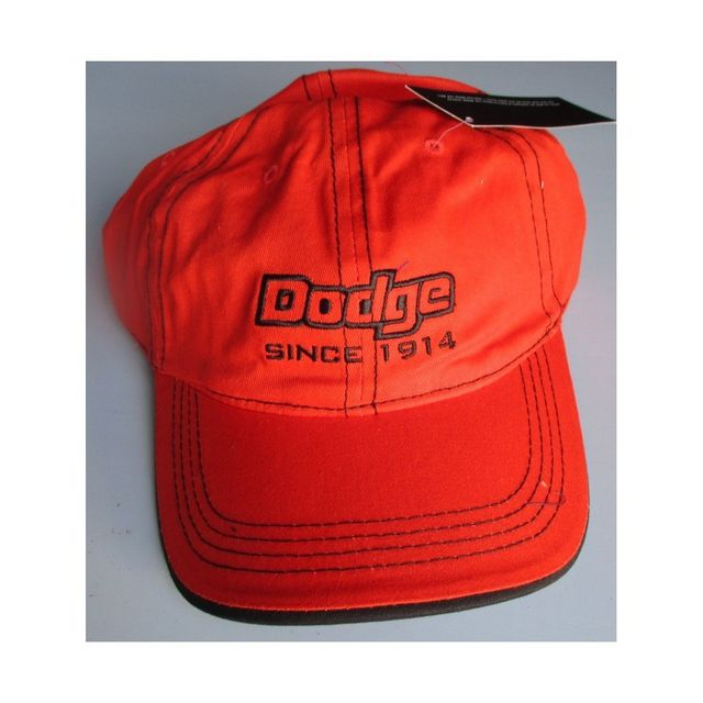 Universel Casquette dodge orange since 1914 homme feme adulte Tu