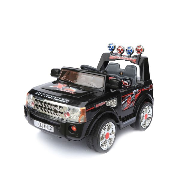 storaddict voiture pour enfants voiture l ctrique range rover noir 6v vitesse 3 km h. Black Bedroom Furniture Sets. Home Design Ideas