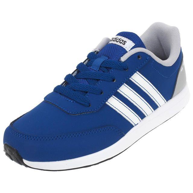 2 Switch Basses Bleu Neo Adidas K Cuir Vs Chaussures Simili Ou Fwxg8q