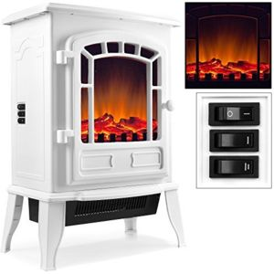 justdeco superbe foyer lectrique avec chauffage effet. Black Bedroom Furniture Sets. Home Design Ideas