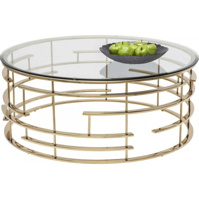 Karedesign Table basse ronde Jupiter 100 cm Kare Design