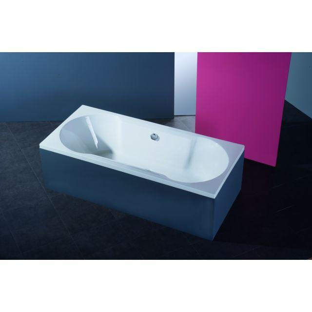 Baignoires Cersanit Baignoire Rectangulaire Encastrable En Acrylique 140x75 Tablier Central Bricolage