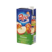 Rea - Jus de pomme 1 L - carton de 10 briques