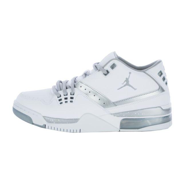 new style fbe78 990d0 Nike - Basket Air Jordan Flight 23 - Ref. 317820-100 Blanc - 40 1 2 - pas  cher Achat   Vente Baskets homme - RueDuCommerce