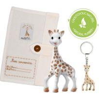 'so'pure Coffret Jouet Mixte Repas Girafe Sophie Textile La Prestige D2WEH9I