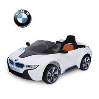 BMW MOTOR SPORT - BMW i8 voiture véhicule électrique pour enfants 3-8 ans 2 moteurs 6 V 3-6 Km/h phares musique télécommande