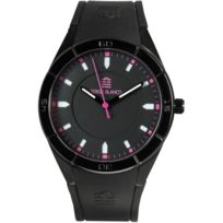Serge Blanco - Promo Montre All Colors Sb1095-3 - Montre Index Rose Homme