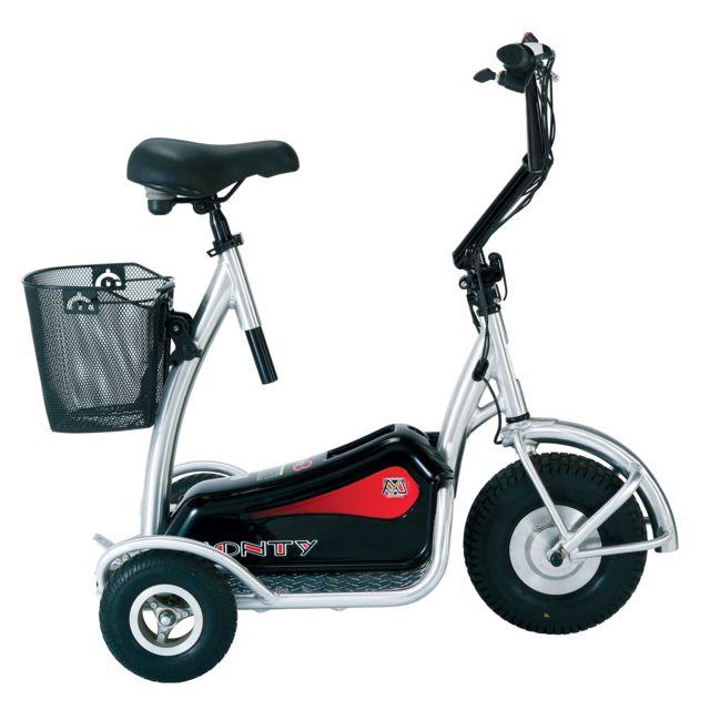 Easyroll - Transporteur électrique - Trottinette adulte à 3 roues
