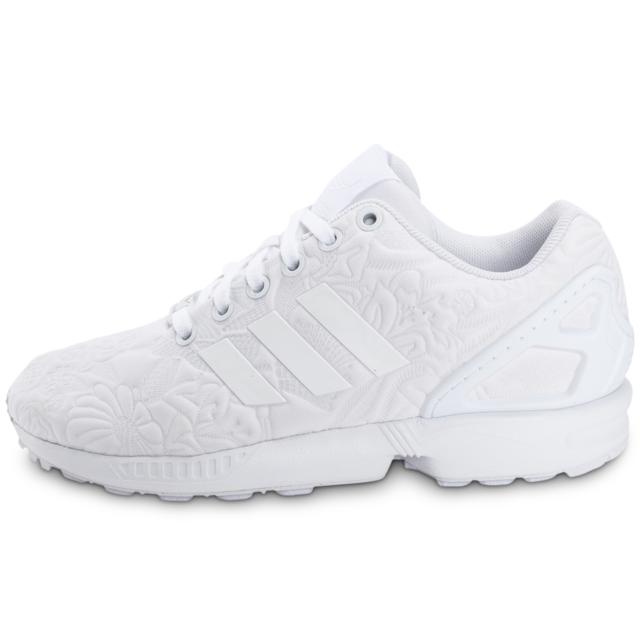 official photos 38c07 170ff Adidas originals - adidas Originals Zx Flux 3d Tropical Blanche - Baskets  Femme