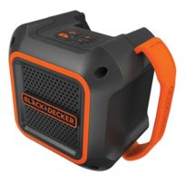 Black & Decker - Bdcsp18N Haut-Parleur 30m Enceinte 18V Bluetooth Aux 3,5mm