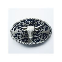 Universel - boucle de ceinture tete d indien bison alu country ... ee45b0de993