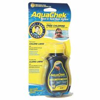 piscine - AQUACHEK JAUNE CHLORE LIBRE/PH/TAC/STAB - 50U/TUBE AQUACLPH