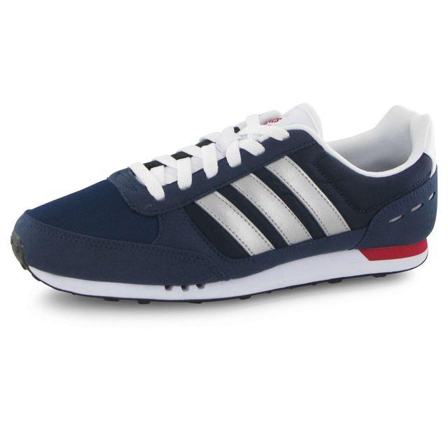 Adidas Neo - City Racer bleu, baskets mode homme