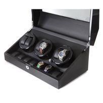 KLARSTEIN - Coffret remontoir automatique pour 13 montres -moteur silencieux