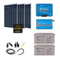Myshop-solaire - Kit solaire 900w autonome + convertisseur 1200va