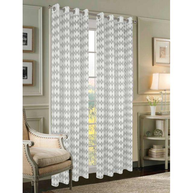 La clef a marques double rideaux largeur 140 x hauteur Rideaux largeur 55 cm