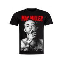 00aacce01af Magiccustom - Johnny Hallyday - T-shirt Noir Smet On The Scene - pas ...