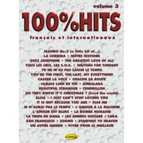 Carisch - Partitions Variété, Pop, Rock. 100 % Hits Varietes Vol.3 - Pvg Piano Voix Guitare